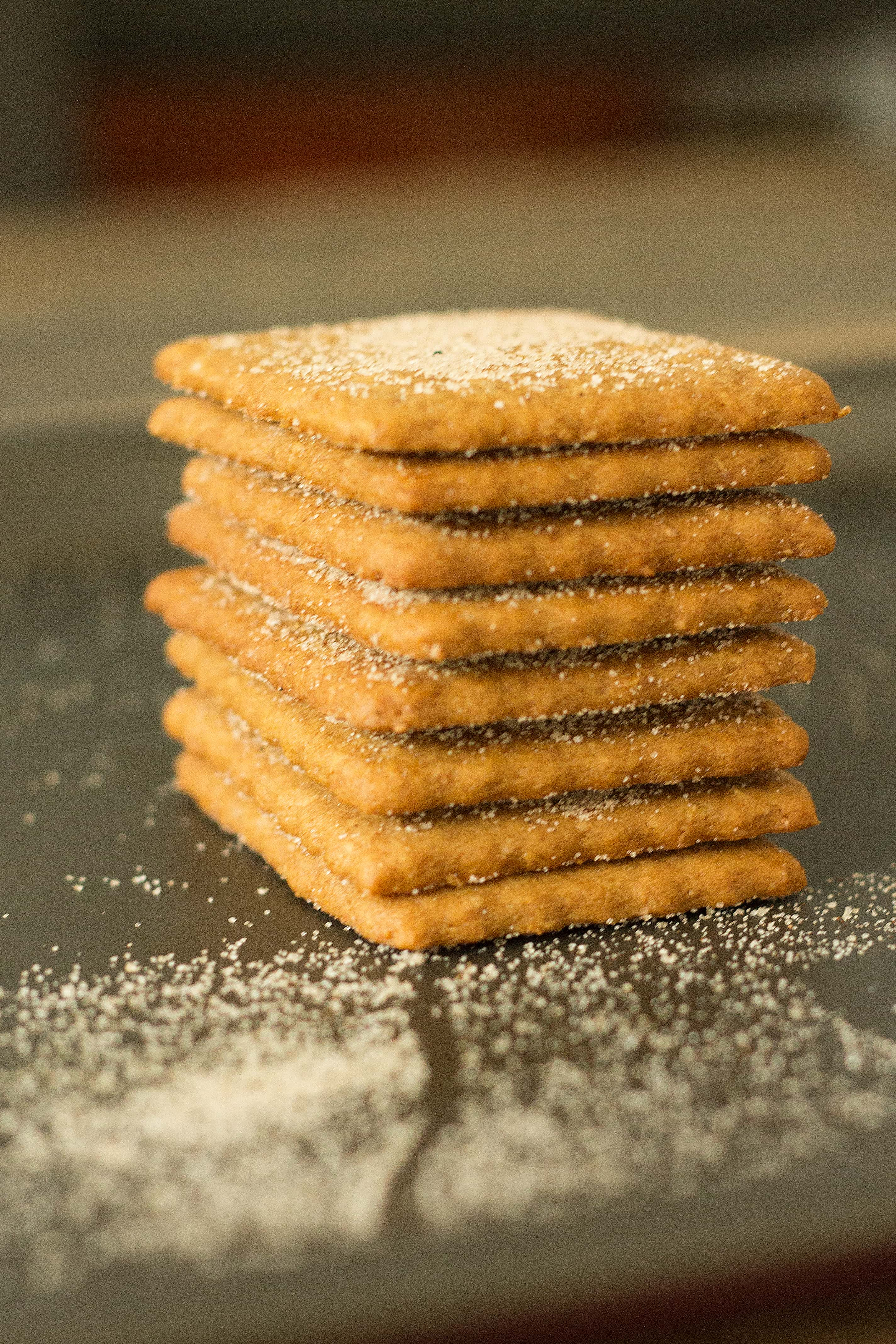 Homemade graham crackers are a fun weekend project your kids will go nuts for, not to mention a delicious DIY!