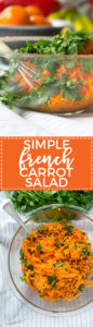 Add this simple, refreshing, and healthy carrot salad to your table to channel the best parts of the French family dinner!