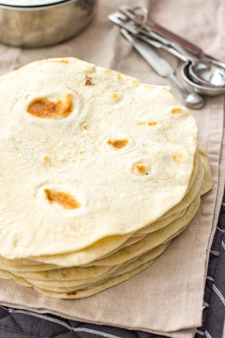 Groovy Easy Flour Tortillas From Scratch Interior Design Ideas Clesiryabchikinfo