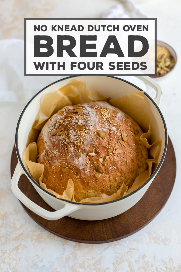 THE BEST HOMEMADE BREAD - and seriously easy to make, even if you're not used to baking with yeast! Baked in a Dutch oven, NO kneading required, and can be made to eat the same day - no need to let it rise overnight. Your whole family will inhale this bread! #bread #dutchoven #nokneadbread