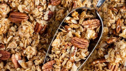 Go-To Coconut Pecan Granola