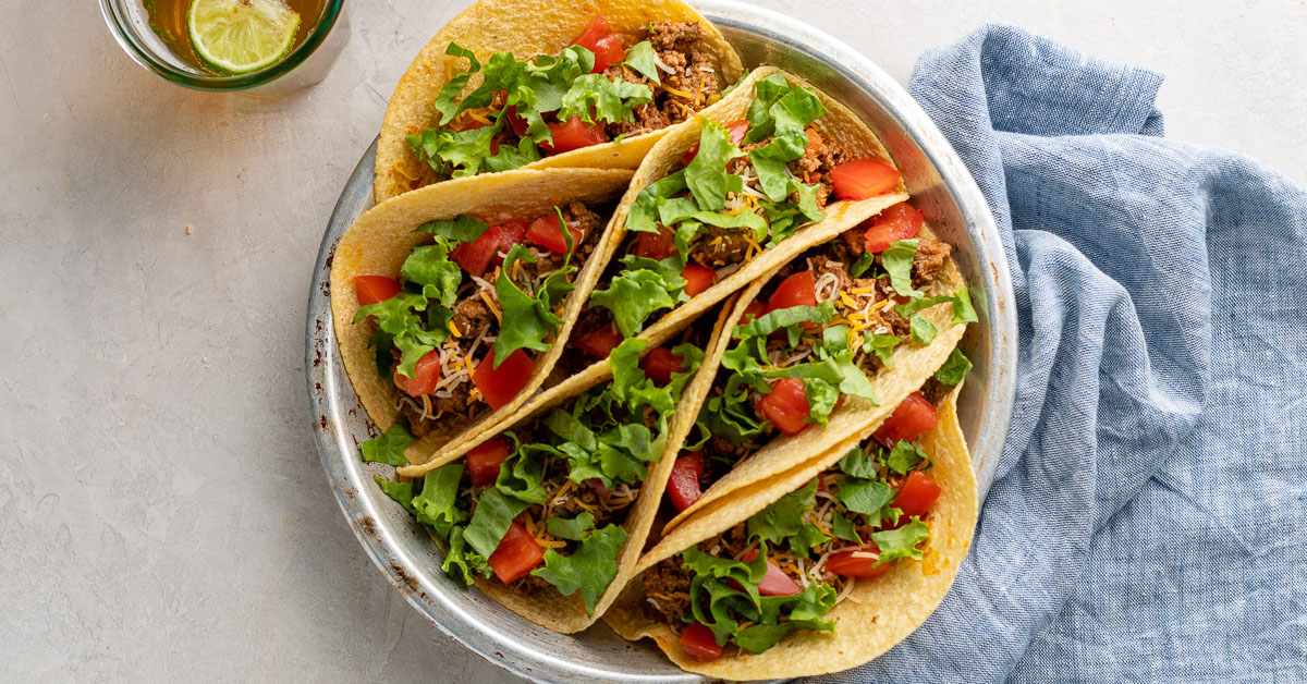 Easy & Flavorful Instant Pot Ground Beef Tacos