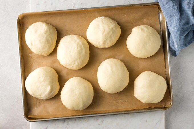 Puffy rolls.